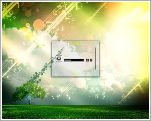 Grate Vista Live Logon Para XP