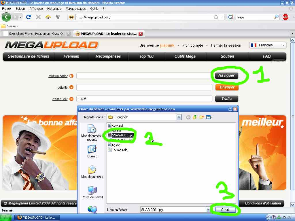 Comment Uploader sur Megaupload 0-cb10e2