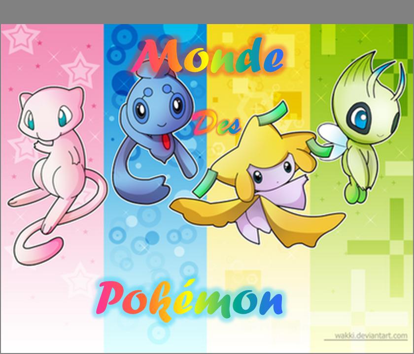 le mondes des pokemons
