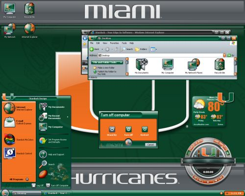 Stardock MyColors University of Miami Suite UmbrellaMOD.CoM